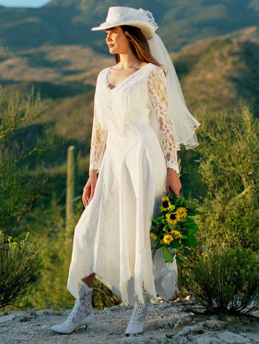Beautiful Country Wedding This Is The Exact Dress I Wanted To Be Ma Western Style Wedding Dress Country Western Wedding Dresses Long Sleeve Wedding Dress Lace