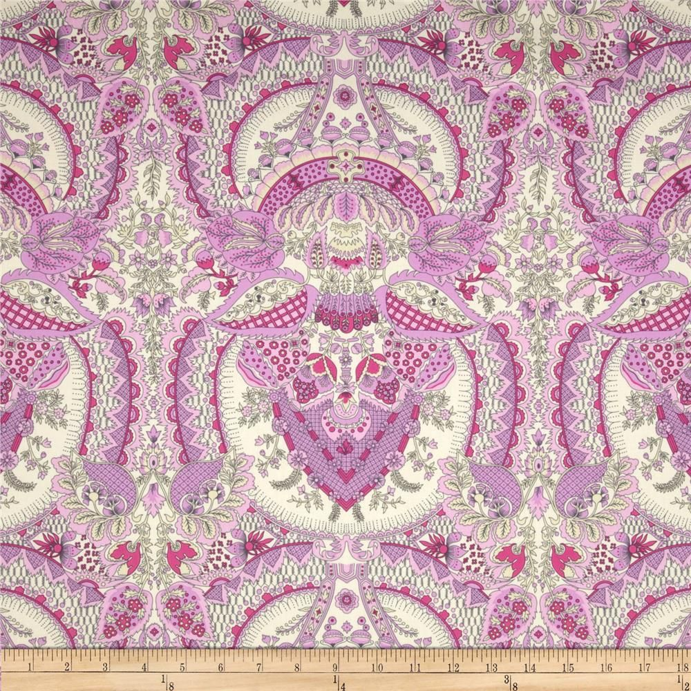 Amy Butler Alchemy Sateen Bliss Flora Berry