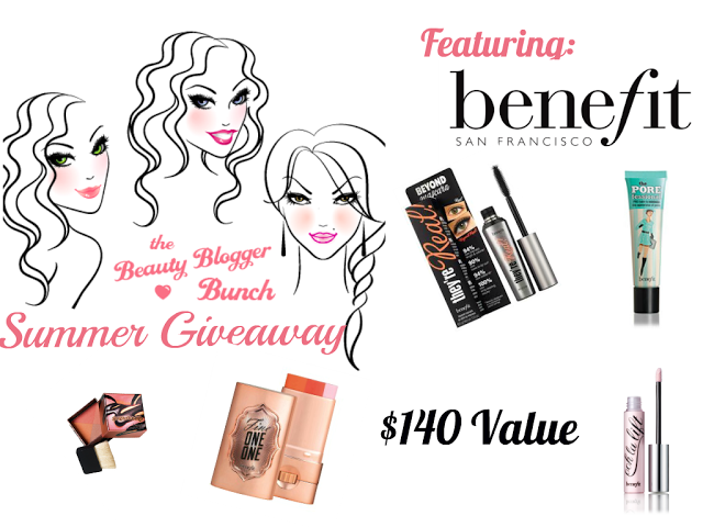 Win prize pack from Benefit Cosmetics
