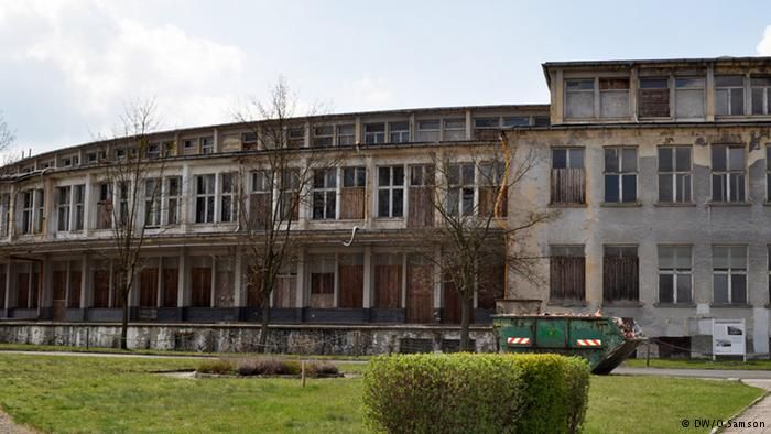 Hitler's abandoned Olympic Village from the 1936 Olympic Games. Berlin, Germany