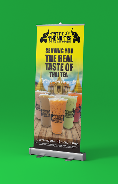 Contoh X Banner Minuman : contoh, banner, minuman, Desain, Banner