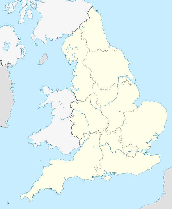 Map Of Just England.Map Of England Showing The Locations Of Towns And Battles The
