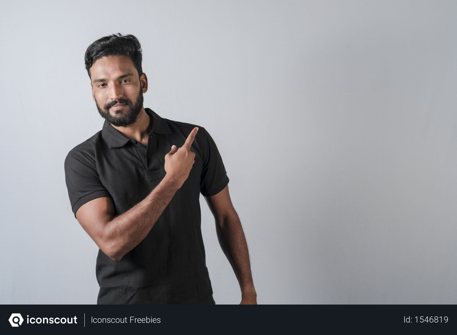 Free Handsome Stylish Man Showing Direction And Pointing With Finger With Copyspace Photo Download In Png Jpg Format Stylish Men Handsome Man