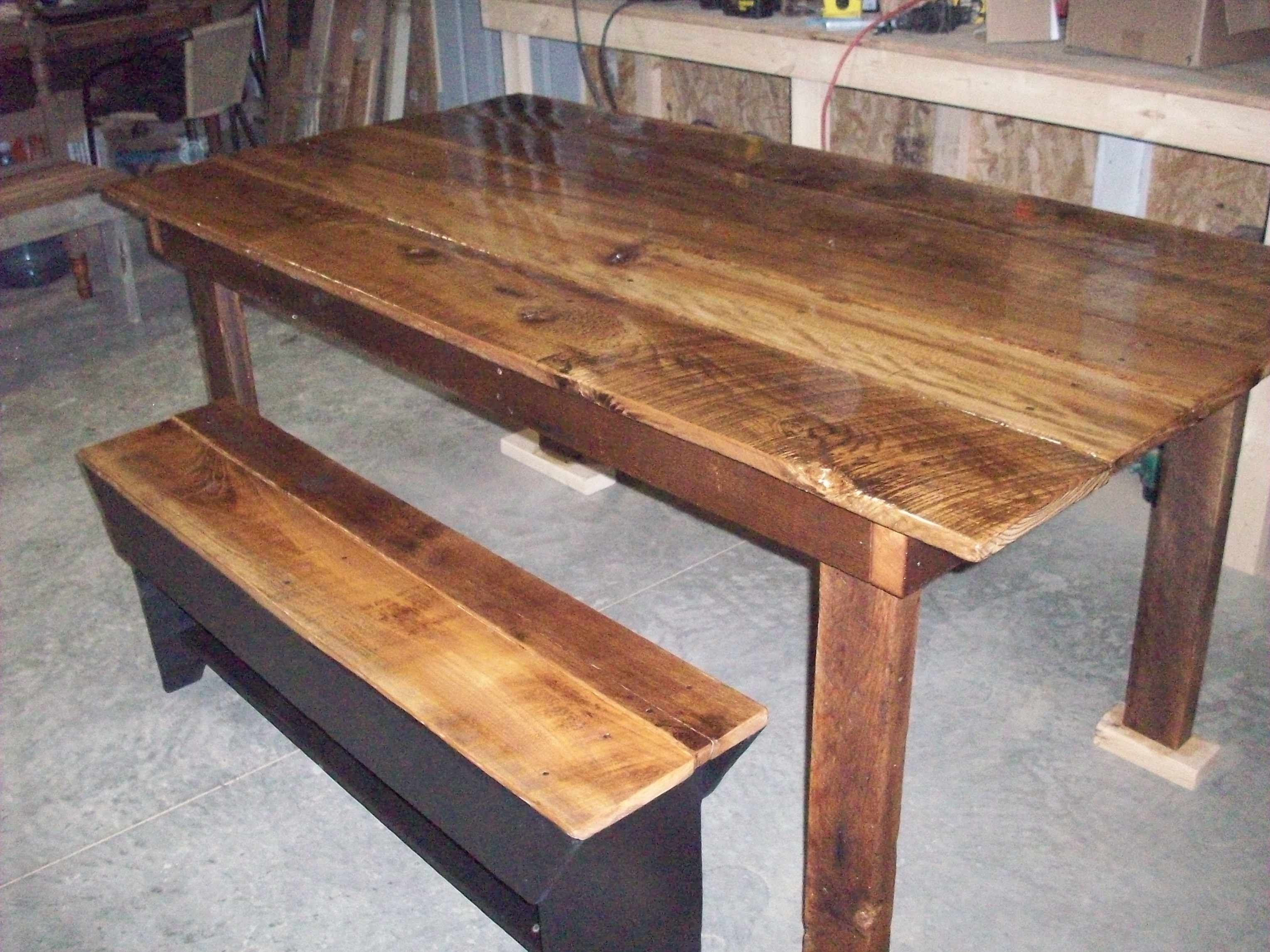 Strange Harvest Table Made With Barn Boards Benches Have Barn Board Alphanode Cool Chair Designs And Ideas Alphanodeonline