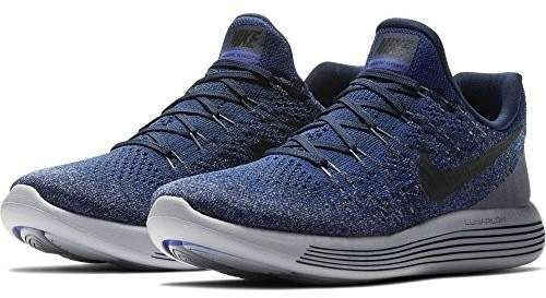 c33eb1ad69e10 Nike Mens Lunarepic Low Flyknit 2 (College Navy Black-Concord
