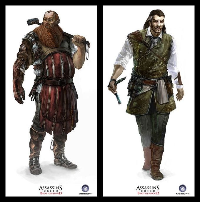 Assassin S Creed Concept Art By Antoine Rol Assassins Creed Concept Art Concept Art World