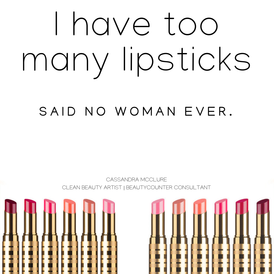 Funny Clean Beauty Lipstick Quote Lipstick quotes