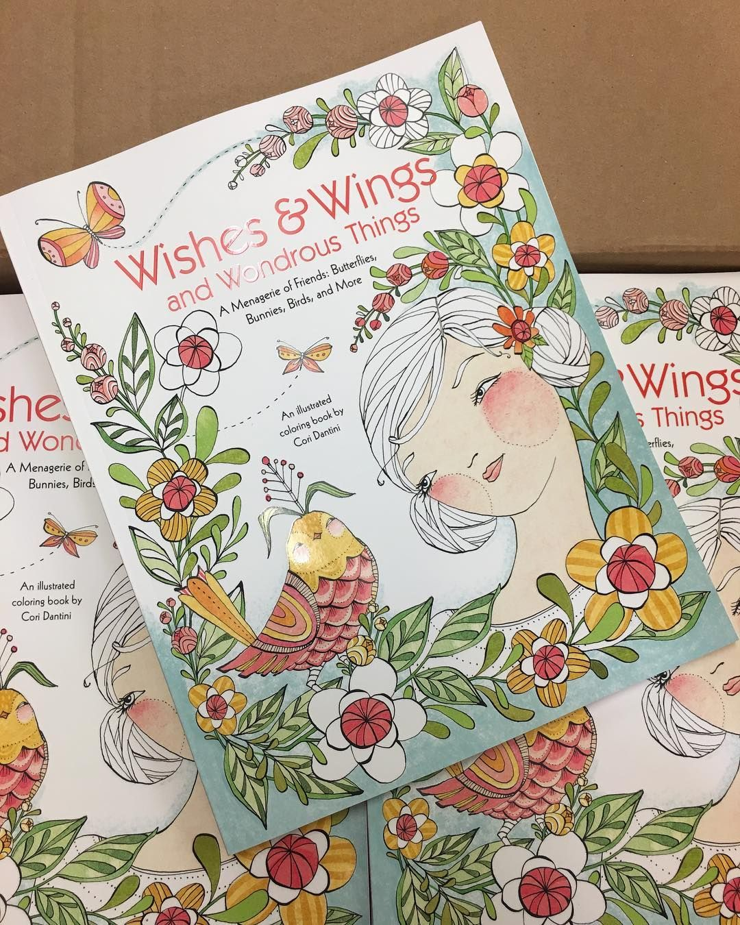 Lotus designs coloring book - Coloring Book Wishes Wings And Wonderful Things Cori Dantini