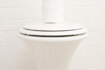 How To Remove Hard Water Stains In A Porcelain Toilet