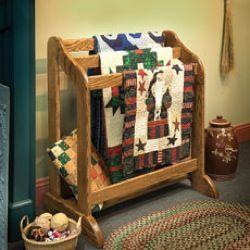 fee plans woodworking resource from Woodcraft - quilt racks,wooden ... : wooden quilt hangers - Adamdwight.com