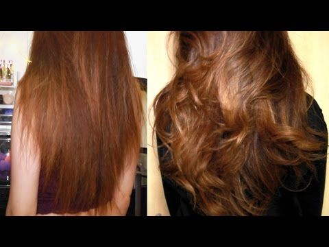How To Cut Your Own Hair In Layers Without Losing Length Youtube
