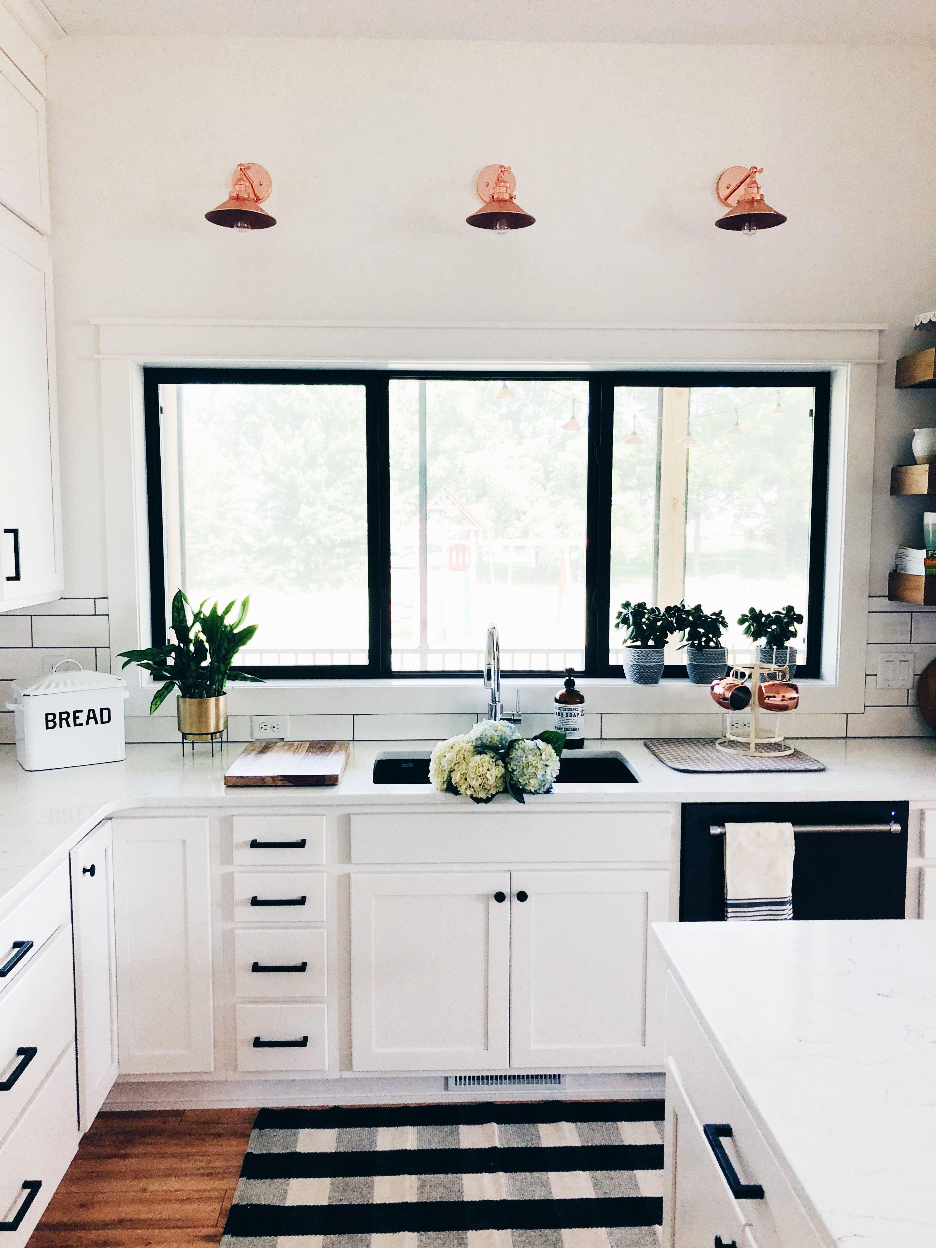 Black and white kitchen home modern farmhouse kitchens