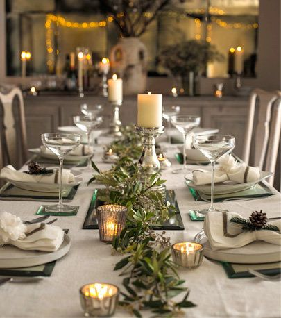 Fine The White Company Table Setting Entertaining Christmas Interior Design Ideas Pimpapslepicentreinfo