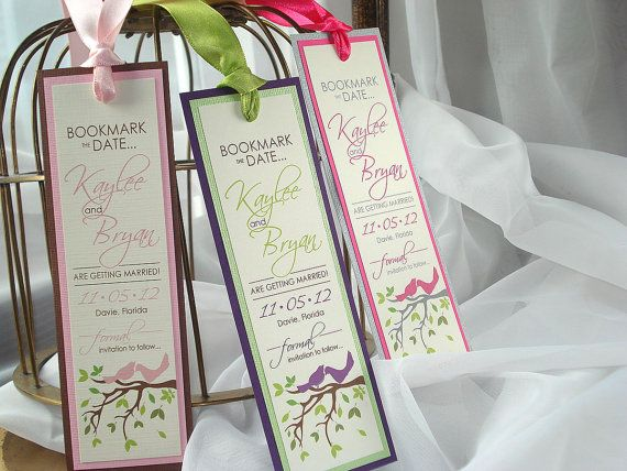 Spring Love Birds Branches and Leaves Wedding by envymarketing ...
