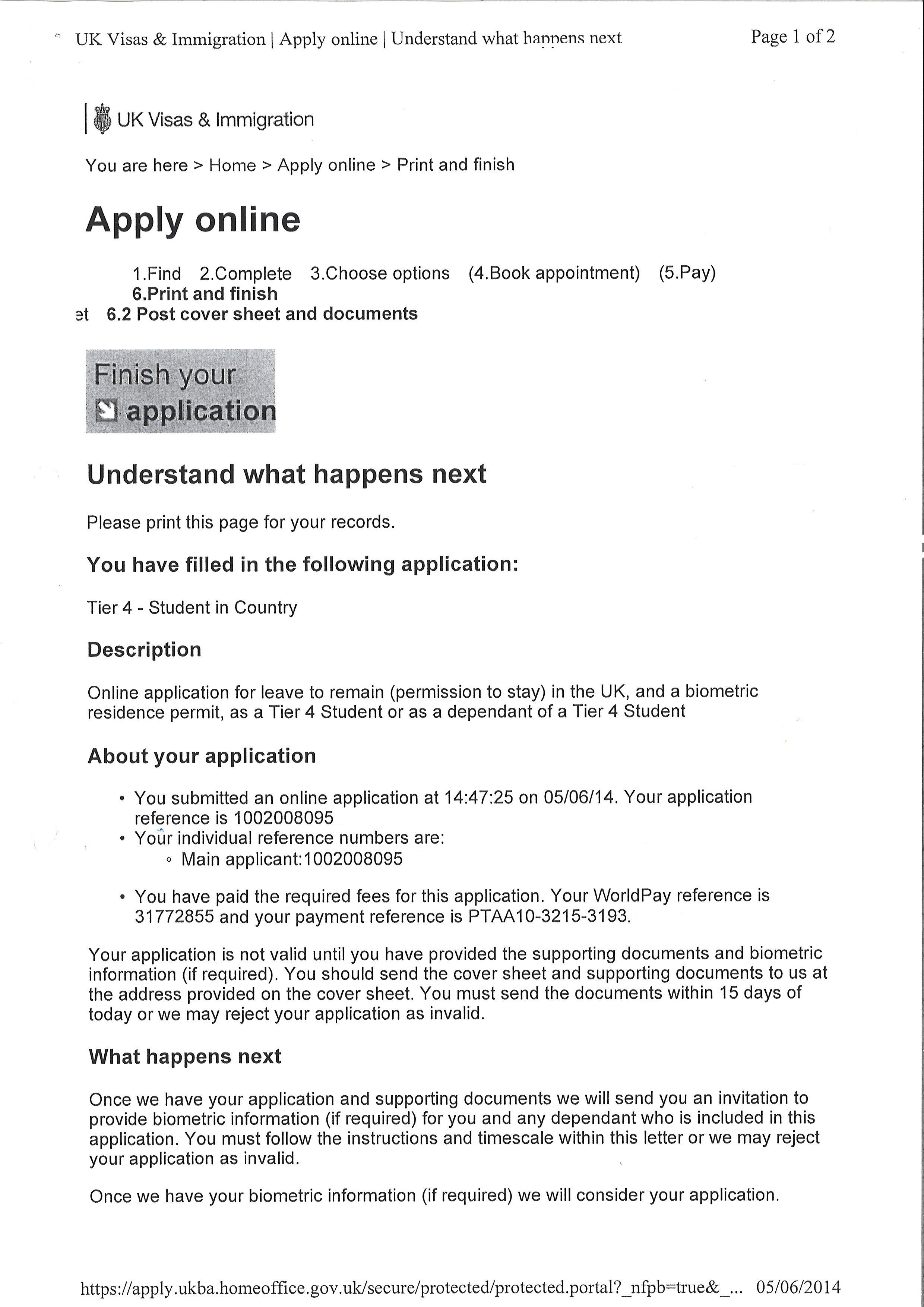 Cover Letter Uk Visavisa Application Letter Application Letter