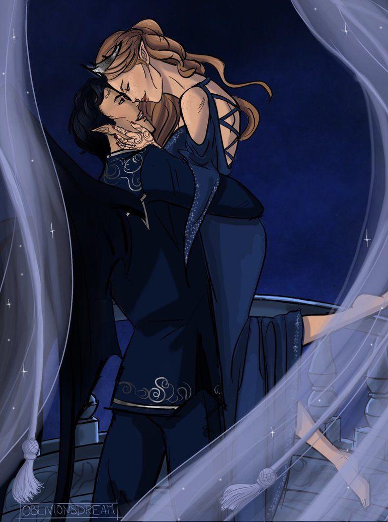 Rhysand And Feyre By Oblivionsdream Deviantart Com On Deviantart
