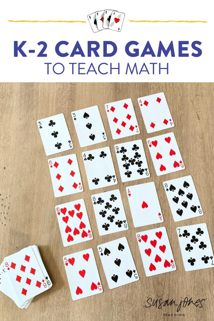 Math Card Games for Kids! - Susan Jones