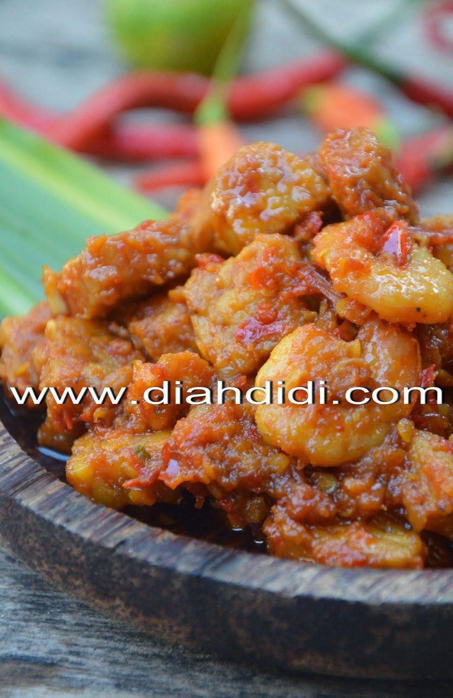 Diah Didi's Kitchen Tempe Bumbu Bali Masakan indonesia