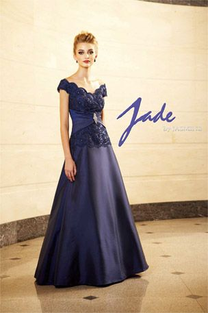 Jade Taffeta Mother of Bride