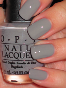 pretty gray nail polish