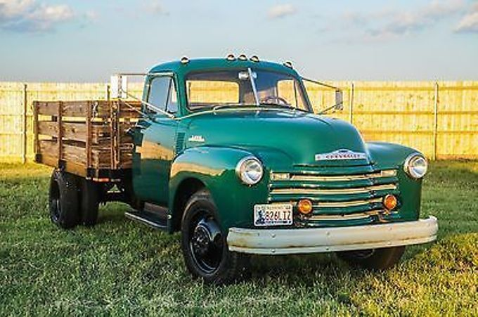 1953 Chevrolet 6400 Duz Kasa 54 Chevy Truck Classic Chevy Trucks Chevy Trucks