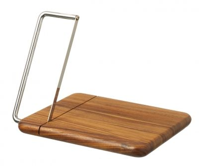 Cheese Board with Cutter - buy now from adventino.co.uk