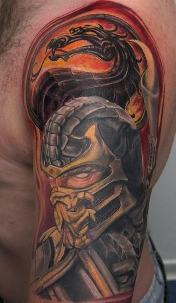 Mortal Kombat Subzero Tattoos Mortal Kombat Scorpion Mortal