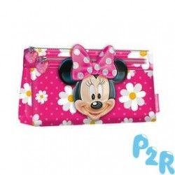 Estojo Minnie Disney Flowers