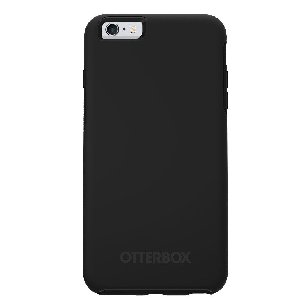 """OtterBox Ultra Slim Symmetry Series Case for Apple iPhone 6 Plus / 6S Plus (5.5"""" Version) - Black (Certified Refurbished). This Certified Refurbished product has been refurbished by the Manufacturer or a Third-Party Refurbisher to work and look like-new. The refurbishing process includes testing of functionality of the product, basic cleaning and inspection of the equipment, and repackaging. The resulting product works and looks like-new, and comes with a minimum 90-day warranty. Only..."""