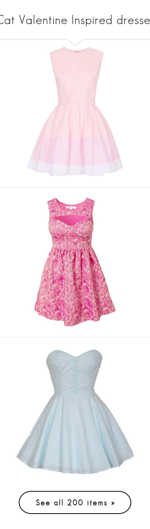 Pink dress topshop  Cat Valentine Inspired dresses
