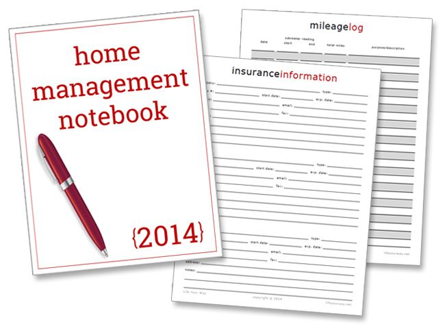 New Printables Insurance Information, Mileage Log \ Notebook - what is a mileage log