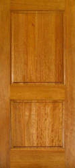 Easton 80 Mahogany 2 Panel Square Top Interior Door