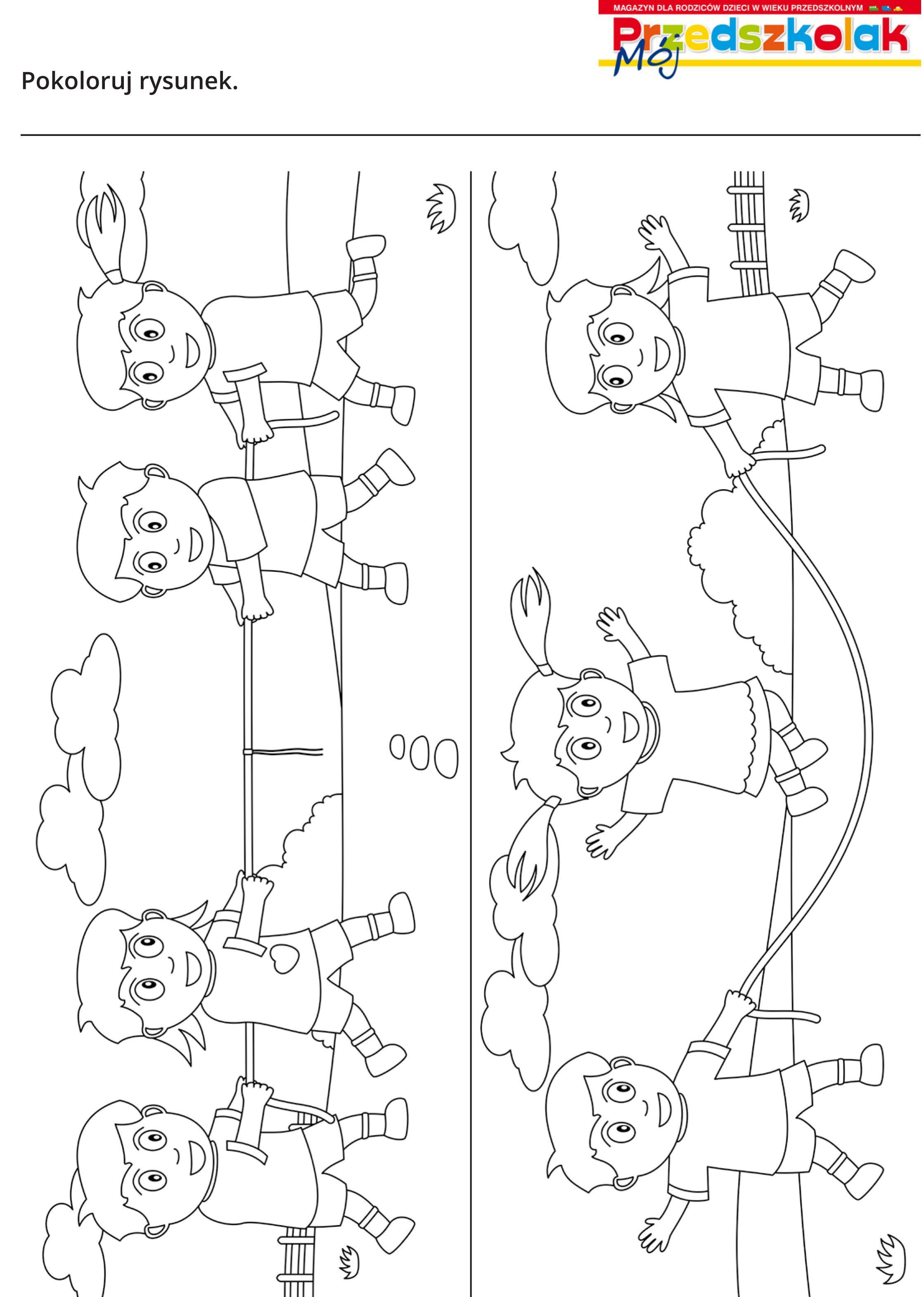Kolorowanka Zabawy Crafts For Kids Crafts Kids