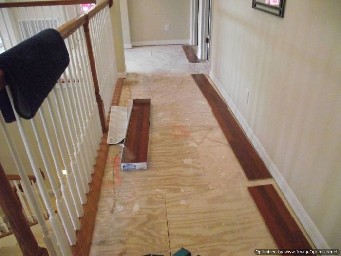 Installing Laminate Flooring In Hallways Can Be A Challenge, Especially  With A Lot Of Doorways