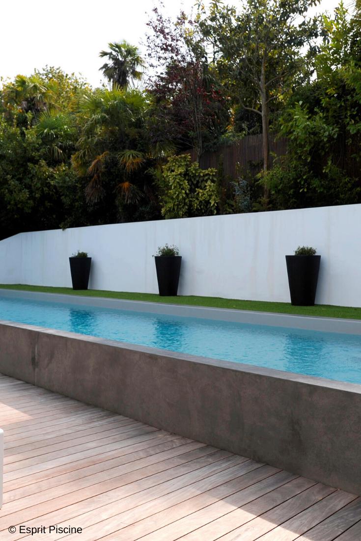 Piscine En Pierre Hors Sol les piscines semi-enterrées | piscine semi enterree, piscine