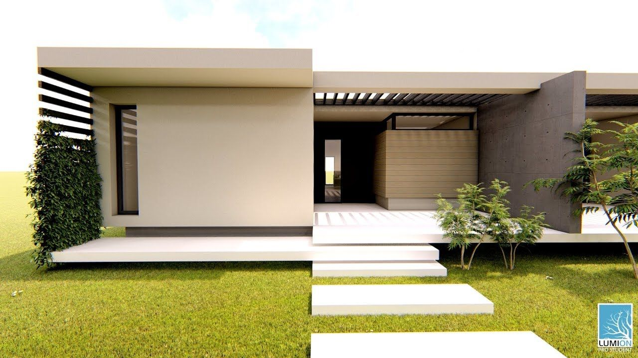 Modern Duplex design - single storey home - 2 bedroom ...
