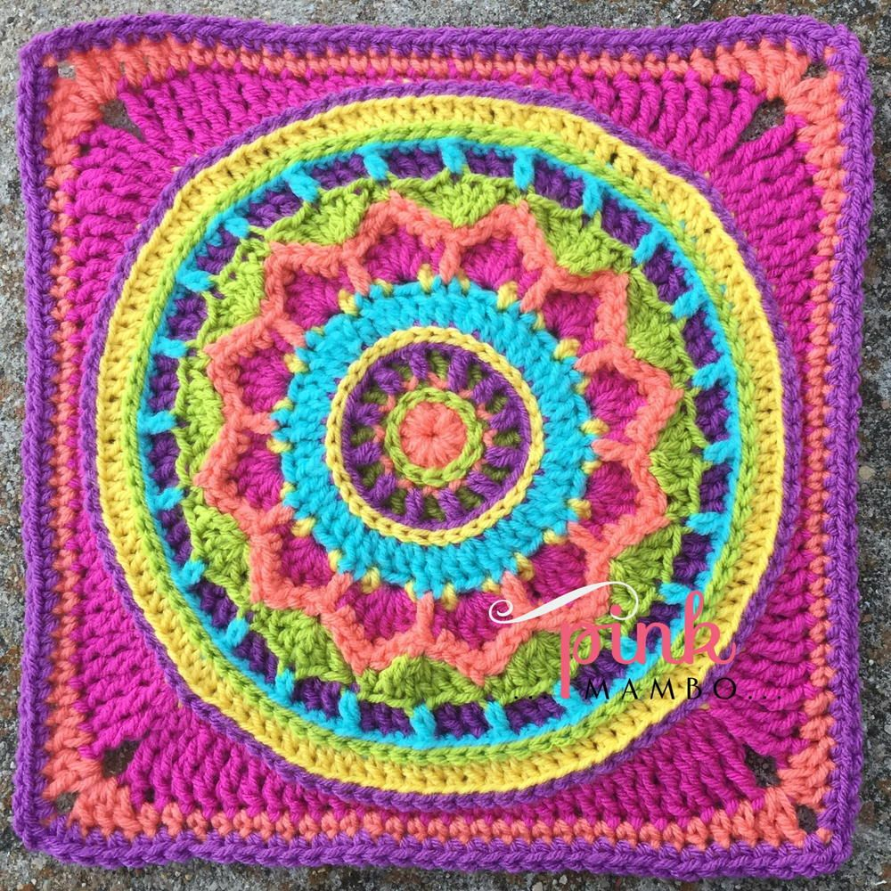 Dreamscape crochet square crochet squares squares and crochet dreamscape crochet square bankloansurffo Image collections