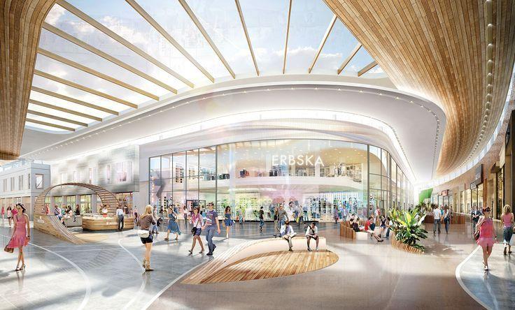 Yibd Underground Mall Google Search Mall Interior