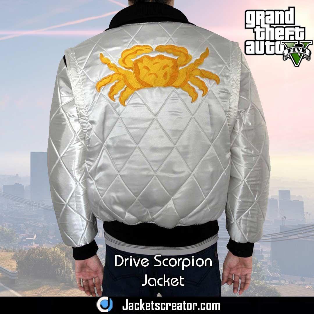 Bomber Drive Scorpion Gta 5 Jacket Jackets Creator Jackets Fashion Online Fashion [ 1080 x 1080 Pixel ]