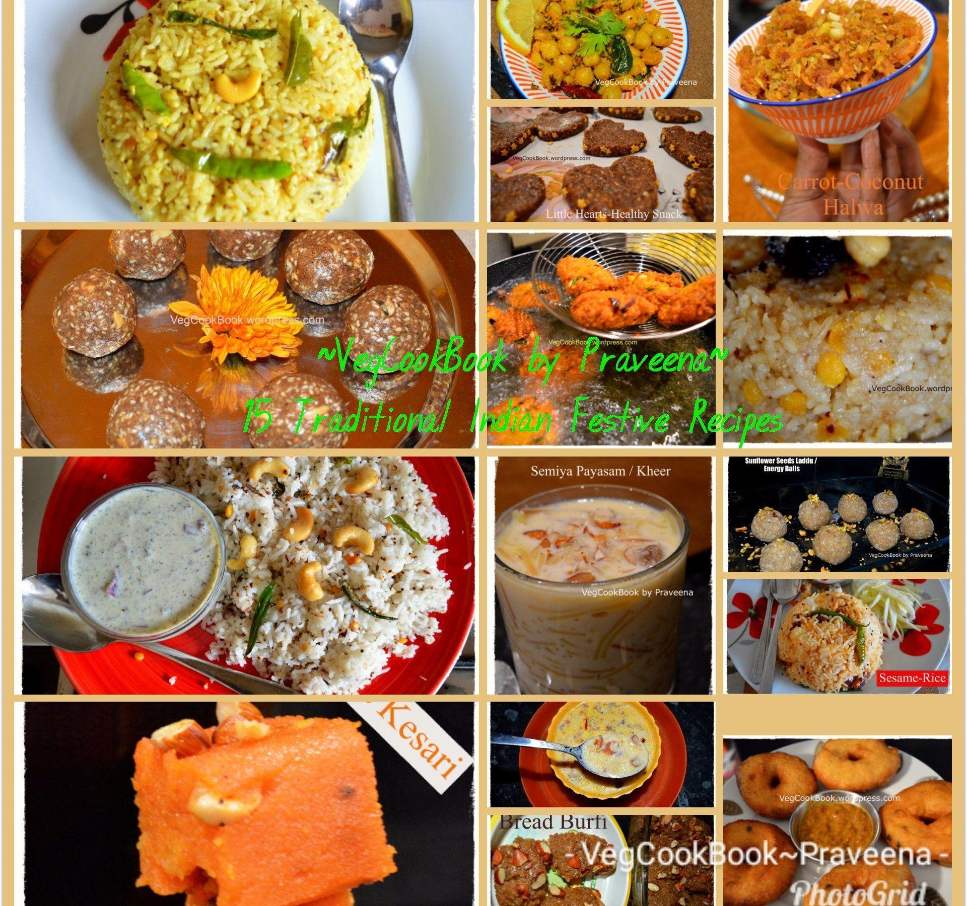 Traditional Indian Recipes For Festivals Panduga Nayivedyalu I