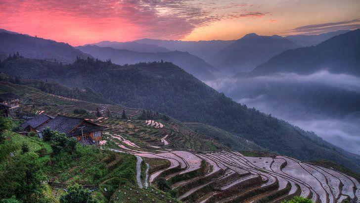 Collection Of Windows Spotlight Wallpapers Landscape Hd Landscape Guangxi Spotlight