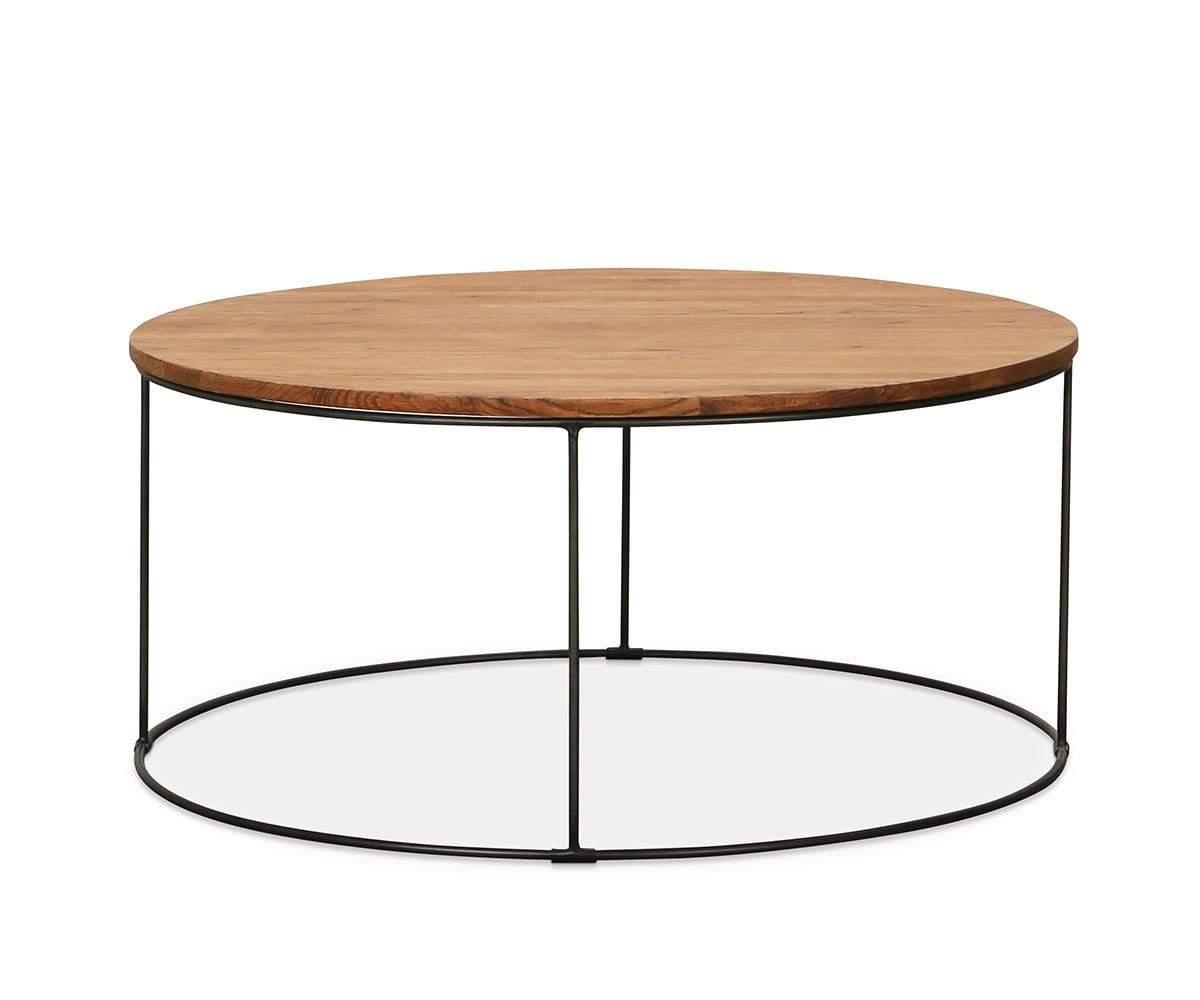 Leende Round Coffee Table Round Coffee Table Round Wood Coffee