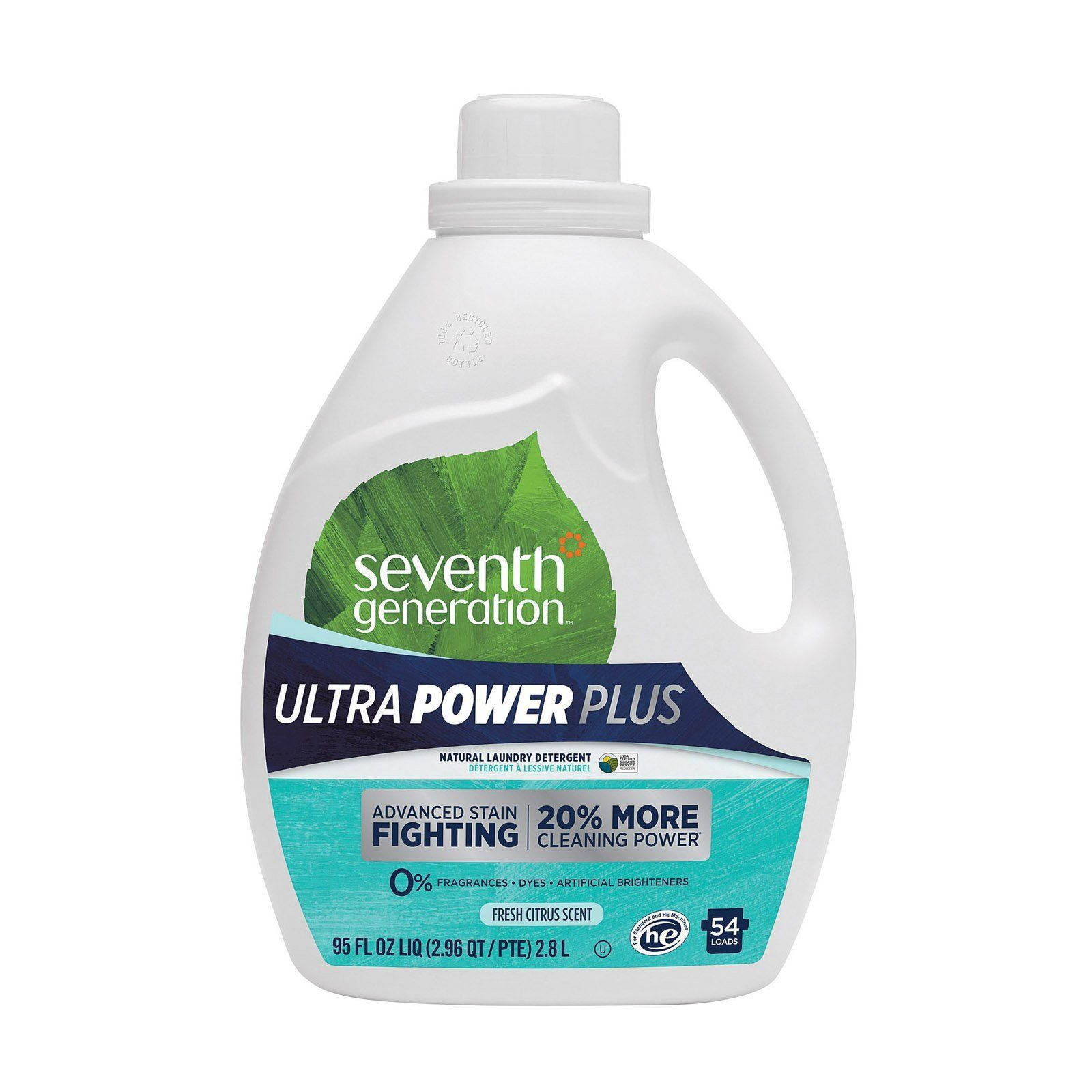 Seventh Generation Ultra Power Plus Natural Laundry Detergent