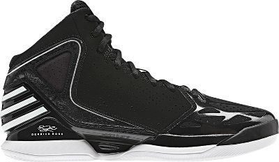low priced b8287 cfbf0 adidas Men s Rose 773 Basketball Shoes (6.5, Black Running White Black)