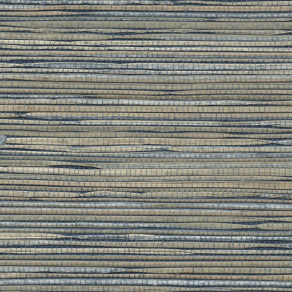 Classic Navy Grass Roots Classic Navy a Grasscloth 3381
