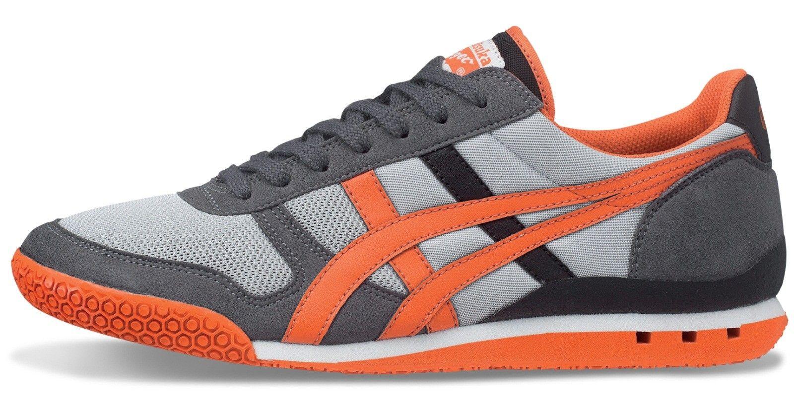 best sneakers f0035 1f47a Onitsuka Tiger Ultimate 81 Light Grey/Orange (HN201-1309 ...