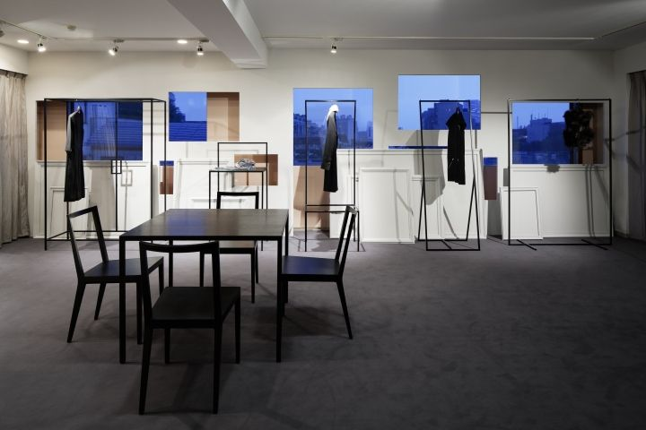 Vaudeville Showroom by Kamiyama Kazuhiro / HaKo Design, Tokyo   Japan store design