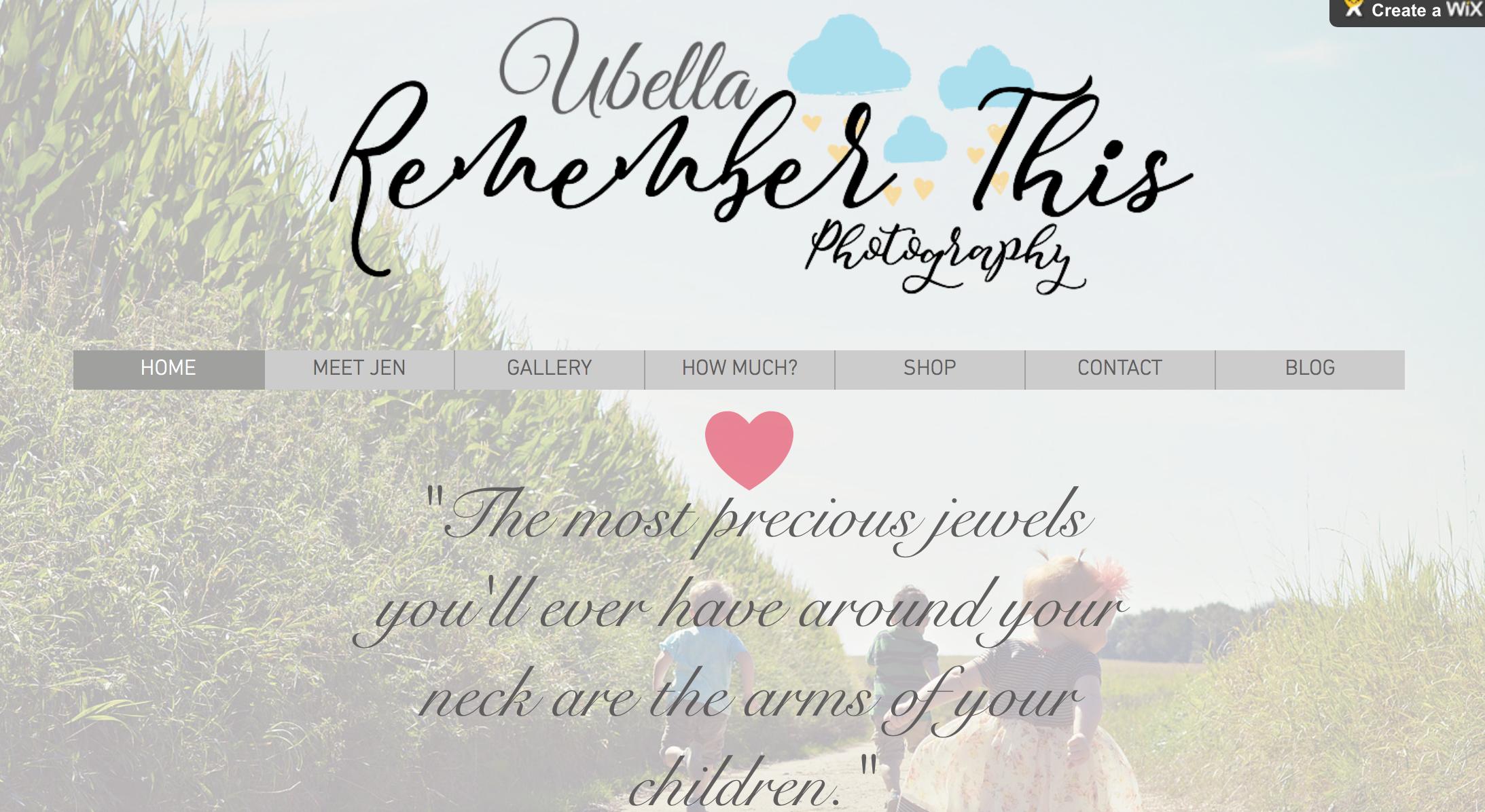 I've updated my website & designed a new logo! :)