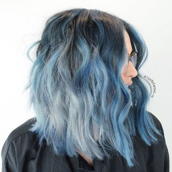 25 Black And Blue Hair Color Ideas August 2019 Hair Color