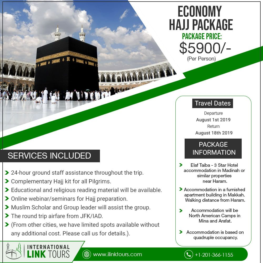 Deluxe Hajj Package | Hajj Packages in 2019 | Travel dating